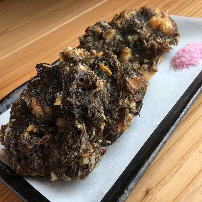 海邦丸のもずくの天ぷら