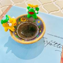 陶器シーサー絵付け体験⌘トレイシーサー